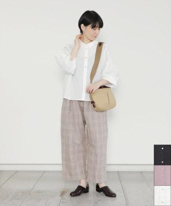 Sorte cuff / コットンボリューム袖シャツ
