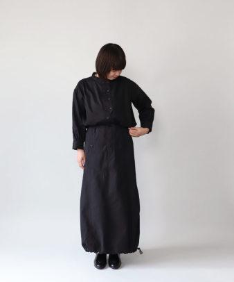 mumokuteki / リネン長袖ダブルボタンシャツ_13