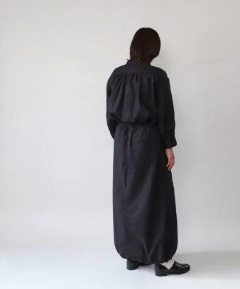 mumokuteki / リネン長袖ダブルボタンシャツ_16