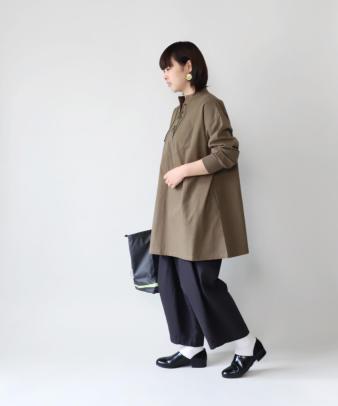 khakito / コットンプルオーバーレースアップトップス_2