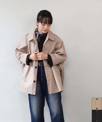 ichi / ポンチョみたいなオーバージャケット