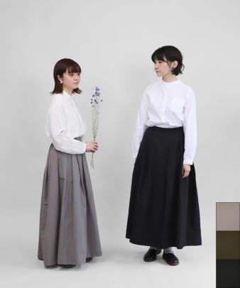 mumokuteki / スカートみたいなワイドパンツ