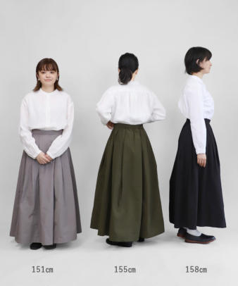 mumokuteki / スカートみたいなワイドパンツ_2