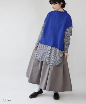 mumokuteki / スカートみたいなワイドパンツ_3