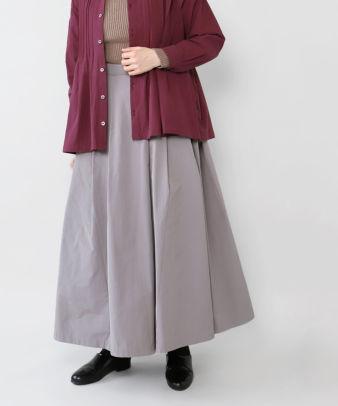 mumokuteki / スカートみたいなワイドパンツ_4
