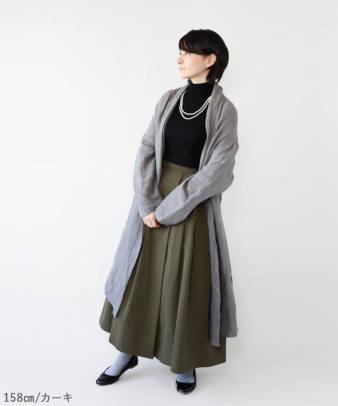 mumokuteki / スカートみたいなワイドパンツ_5