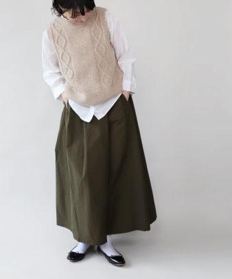 mumokuteki / スカートみたいなワイドパンツ_7