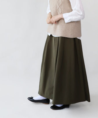 mumokuteki / スカートみたいなワイドパンツ_8