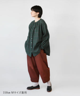 mumokuteki / 長さが選べる2サイズ展開のコクーンパンツ_6