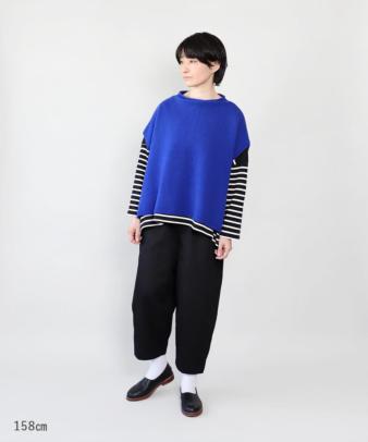 mumokuteki / 長さが選べる2サイズ展開のコクーンパンツ_9
