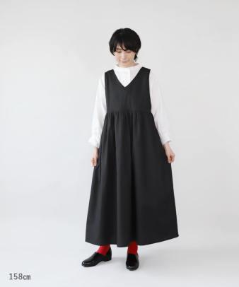 mumokuteki / 前後着用2WAYジャンパースカート_5