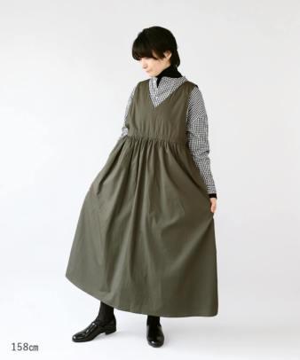 mumokuteki / 前後着用2WAYジャンパースカート_7