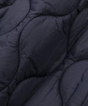 doux bleu / ゆったりワイドなキルティングジャケット_13