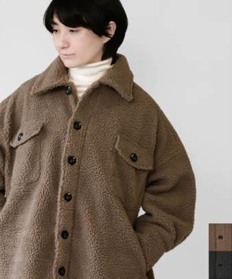 ichi / オーバーサイズのもこもこボアジャケット