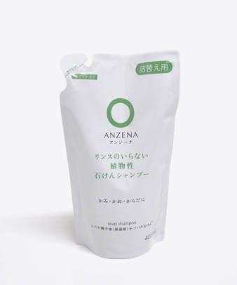 ANZENA / 石けんシャンプー詰め替え用
