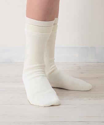 くらしきぬ / 冷えとり靴下 シルク先丸靴下