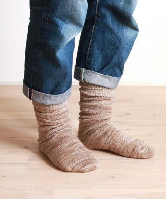 くらしきぬ / お手軽冷えとり靴下かかとなし