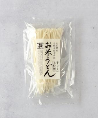 金沢大地 / お米うどん1