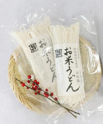 金沢大地 / お米うどん2