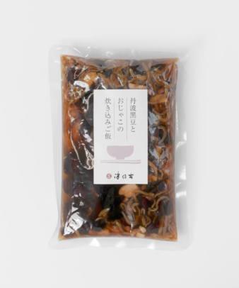 京都 津乃吉 / 丹波黒豆とおじゃこの炊き込みご飯