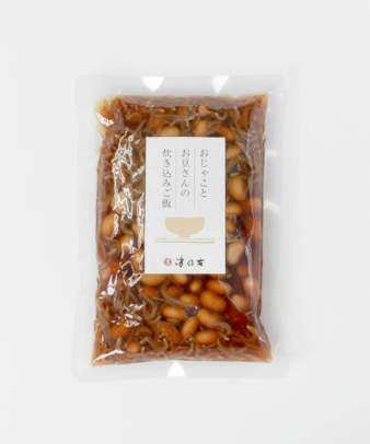 京都 津乃吉 / おじゃことお豆さんの炊き込みご飯