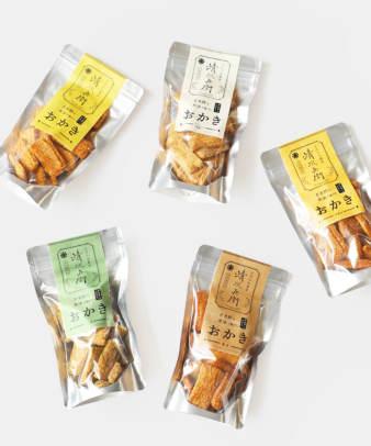 五代目森山清次兵衛 / 玄米餅おかき(のり塩・醤油・甘醤油)