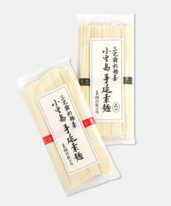 三宅雅和麺業 / 小豆島手のべそうめん (普通麺・太麺)
