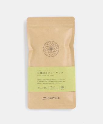 うきはの山茶 / 有機緑茶ティーバッグ 25包