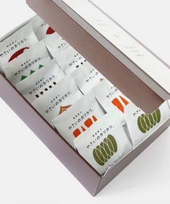 村の菓子工房 / やさいのカリカリ ギフトボックス 12個入2