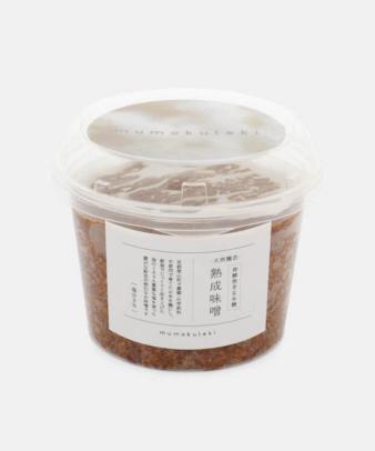 mumokuteki / 発酵発芽玄米麹熟成味噌 500g_4