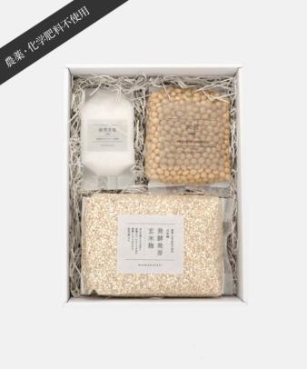 mumokuteki farm / 味噌つくりキット 発酵発芽玄米麹