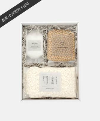 mumokuteki farm / 味噌つくりキット 白米麹