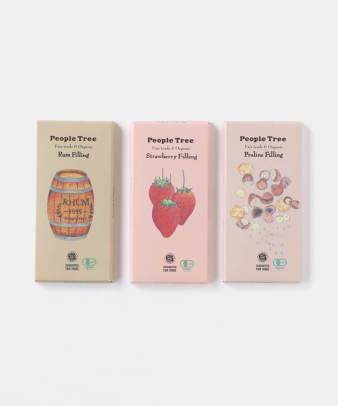 【¥500クーポン対象商品】people tree / フェアトレード&オーガニックフィリングチョコレート
