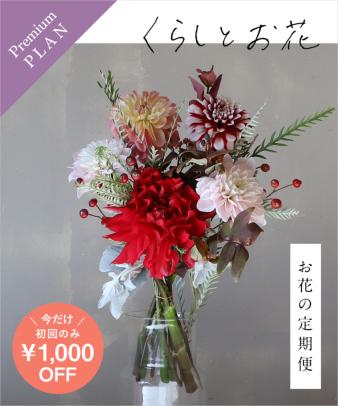 お花の定期便 / オリジナルポストカード付き premium_01