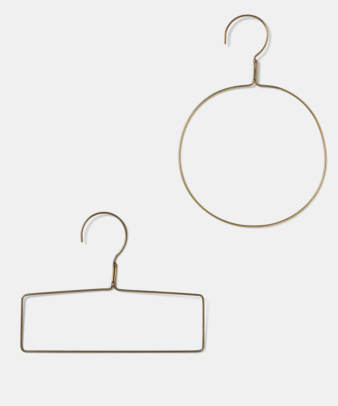 fog linen work / 真鍮ハンガー