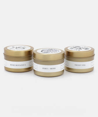 Brooklyn Candle Studio / GOLD TRAVEL CANDLE_1