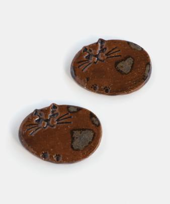 CHIAKI NOGAMI / ねこたまクッキー(カトラリー置き)