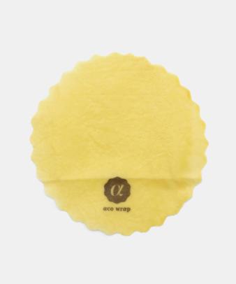 aco wrap / 洗って何度も使える天然ラップ Mサイズ(5寸皿)3