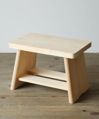 松野屋 / ヒノキ風呂椅子1