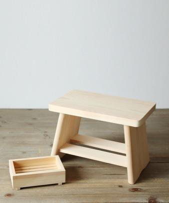 松野屋 / ヒノキ風呂椅子6