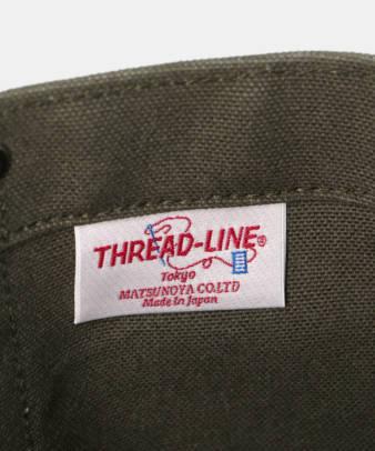 松野屋 / THREAD-LINE ヘビーキャンバストート Sサイズ9