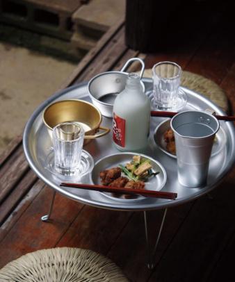 松野屋 / アルマイトちゃぶ台_6
