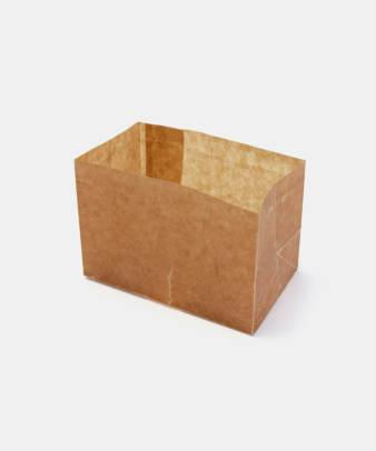 松野屋 / 蝋引紙袋 角底0.5型_2