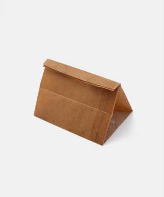 松野屋 / 蝋引紙袋 角底一型_2