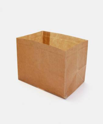 松野屋 / 蝋引紙袋 角底一型_4