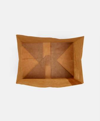 松野屋 / 蝋引紙袋 角底一型_5