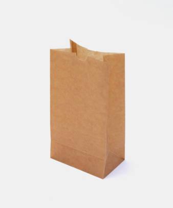 松野屋 / 蝋引紙袋 角底 小