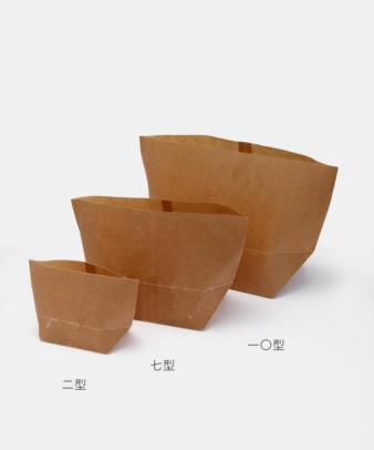 松野屋 / 蝋引紙袋 亀甲七型_4