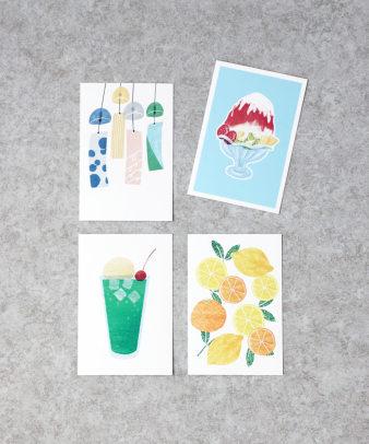 mumokuteki / オリジナル夏ポストカード_1