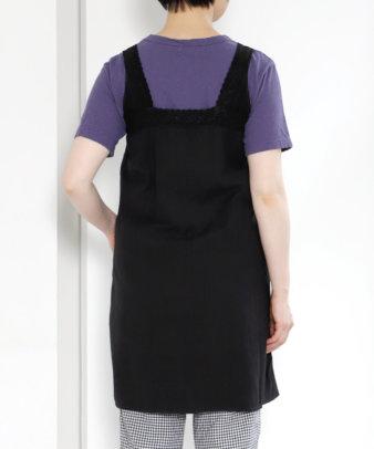 京都紋付黒染め / ヨーロッパホワイトコットンワンピース_5